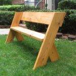 Diy Tutorial Simple Outdoor Wood Bench Project