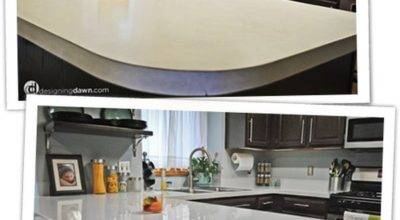 Diy Updates Your Laminate Countertops Without