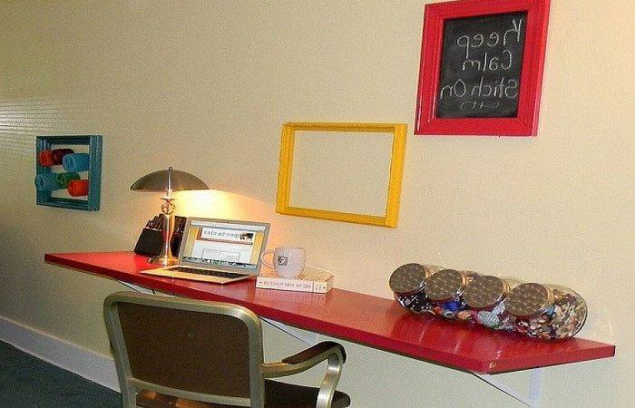 Diy Wall Mounted Desk Really Work Your Home Office