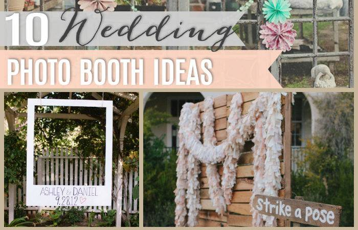 Diy Wedding Booths Girl Creative