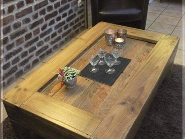 Diy Wood Pallets Coffee Table Pallet Furniture Plans