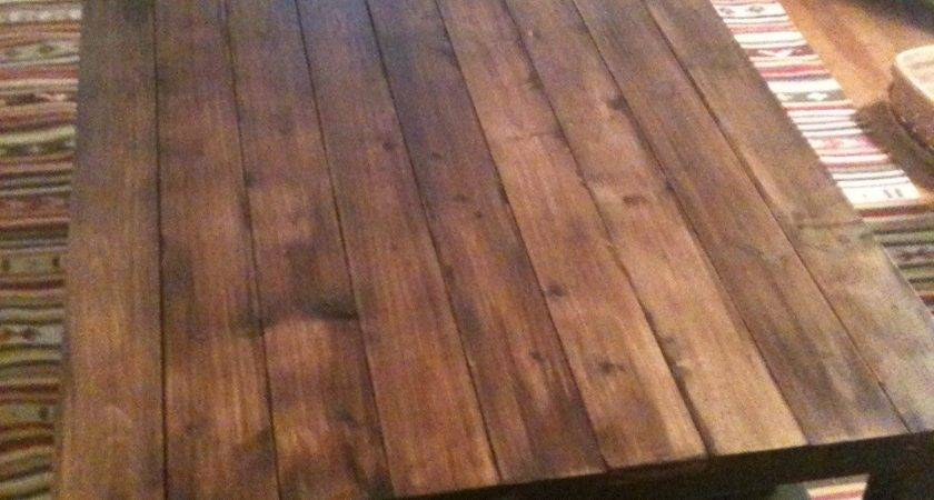 Diy Wood Plank Table Top Discover Woodworking Projects