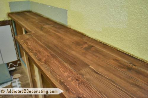 Diy Wooden Kitchen Countertops Make Shelterness