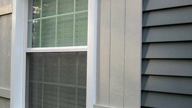 Diy Wooden Shutters Amand Wood Beams Face Fit