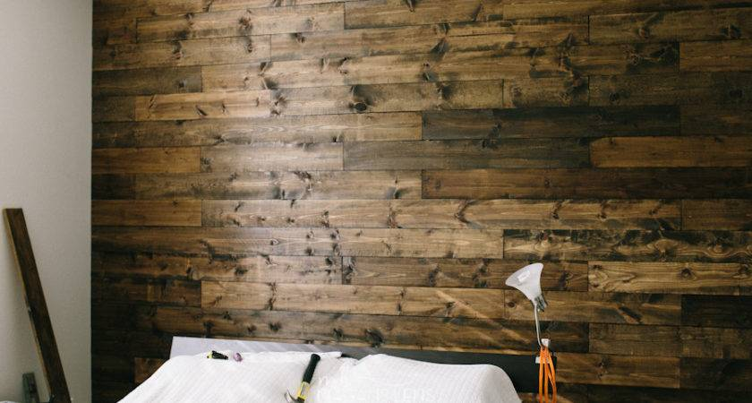 Diy Wooden Wall Our Bedroom