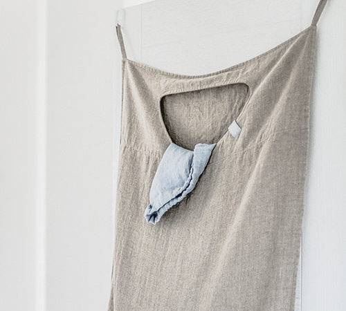 Domestic Science Natural Linen Laundry Bags Remodelista