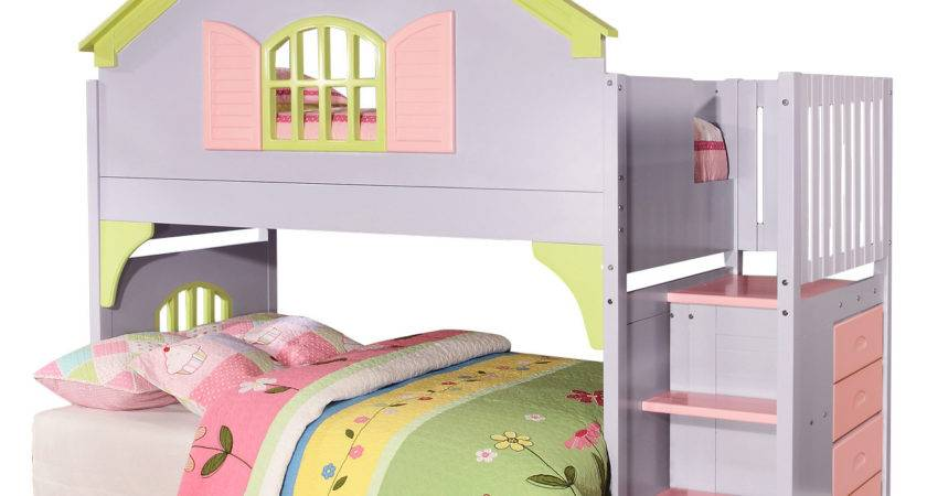 Donco Kids Doll House Twin Loft Bed Reviews