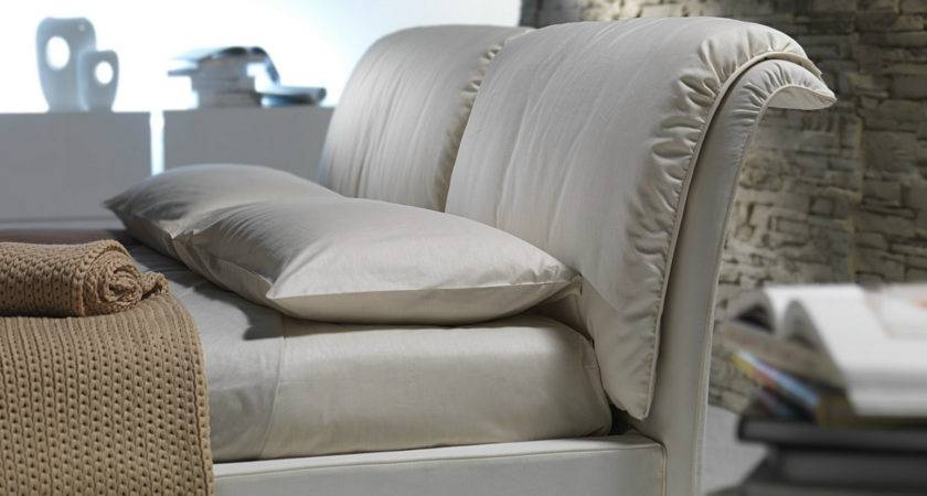 Double Bed Removable Cover Upholstered Headboard