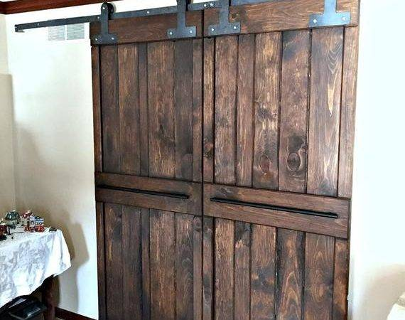 Double Strap Sliding Barn Door Hardware Doors Track
