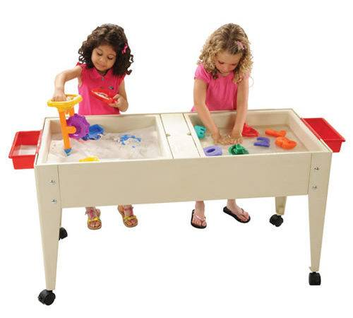 Double Tray Sand Water Table