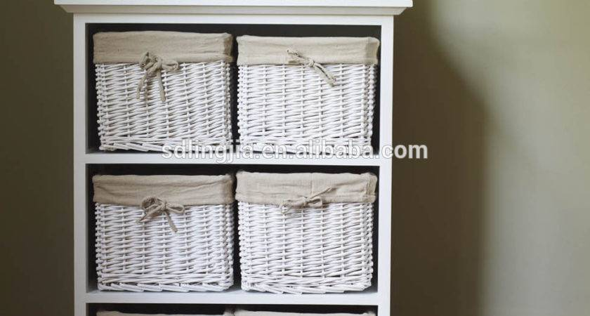 Drawer Storage Cabinet Baskets Shelf
