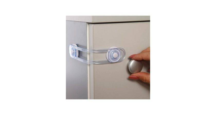 Dreambaby Multi Purpose Latch Clear Pack Babygates