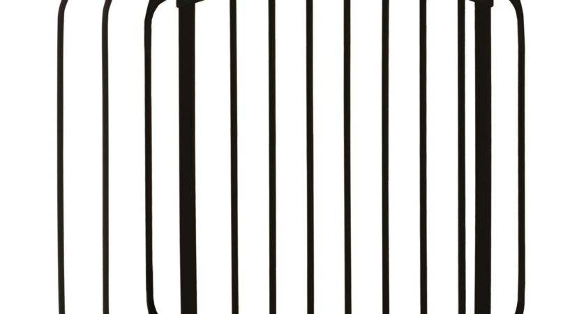 Dreambaby Swing Closed Security Baby Gate Black