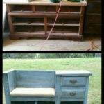 Dresser Made Into Bench Tewstwo