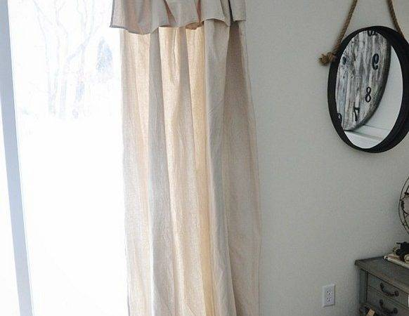 Drop Cloth Curtains Diy Gorgeous Your Room