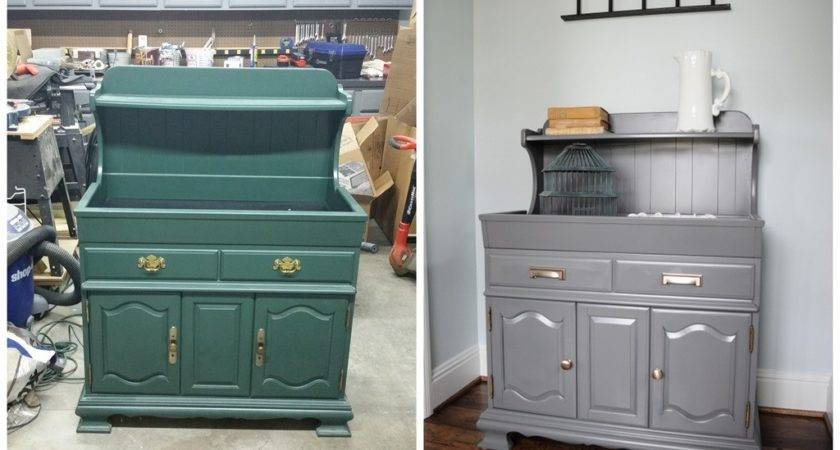 Dry Sink Refinished Furniture Cleverly Inspired