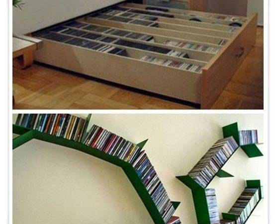 Dvd Storage Ideas Store Thousands Dvds Small Place