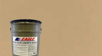 Eagle Gal Neutral Tan Solid Color Solvent Based