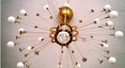 Easy Affordable Fun Diy Sputnik Lamp Creative Spurts