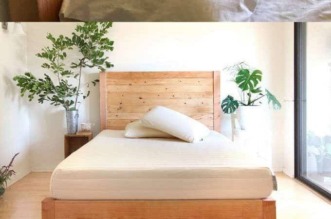 Easy Beautiful Wood Diy Headboard Piece Rainbow