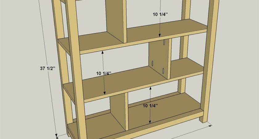 Easy Build Bookcase Buildsomething