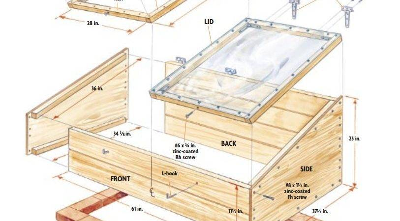 Easy Cold Frame Plans Extend Growing Season
