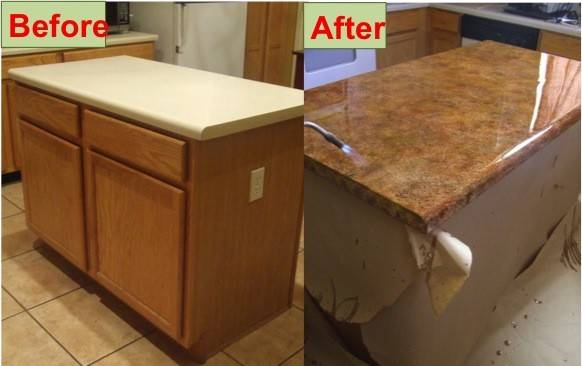 Easy Diy Concrete Kitchen Counter Tops Budget