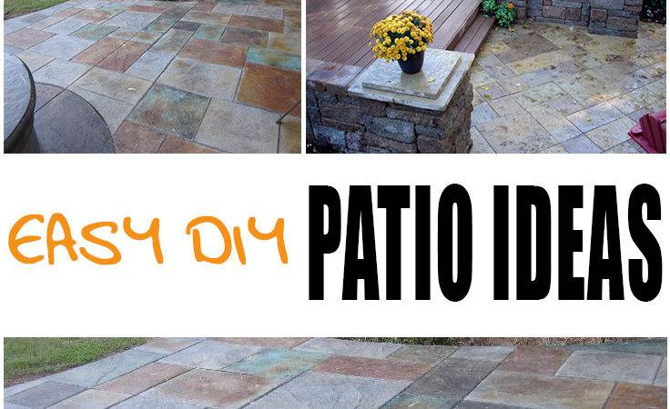 Easy Diy Patio Options Picky Stitch