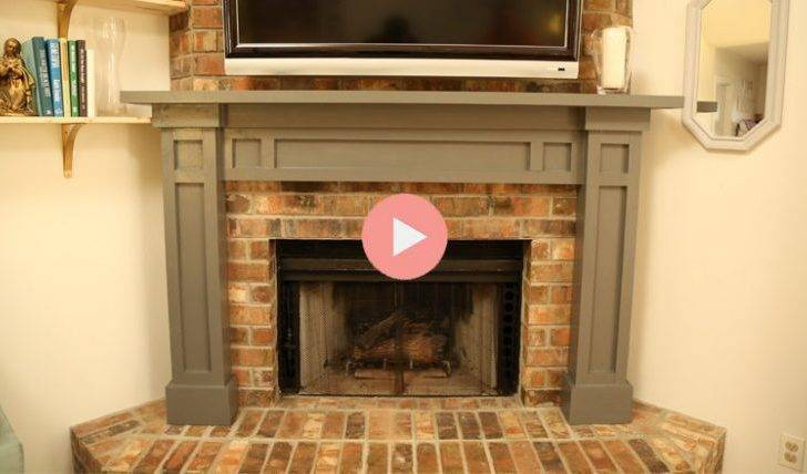 Easy Fireplace Mantel Diy Checking Chelsea