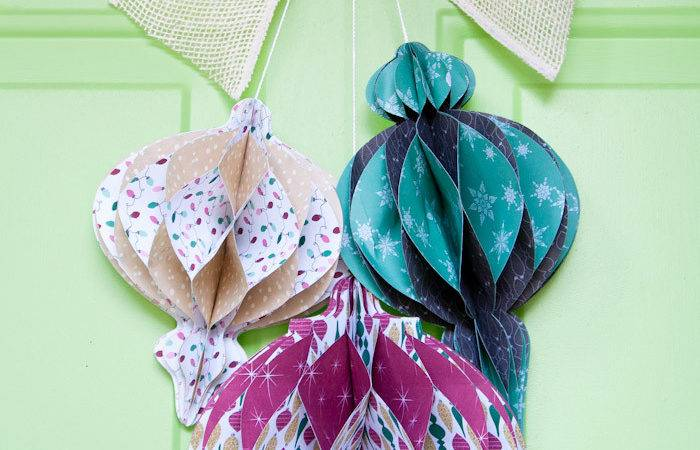 Easy Paper Ornaments Christmas Tip Junkie