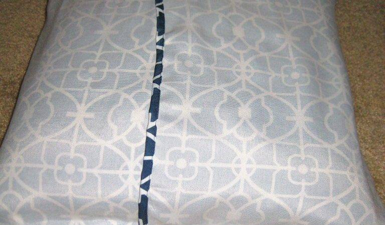 Easy Peasy Sew Pillow Envelope Style Covers