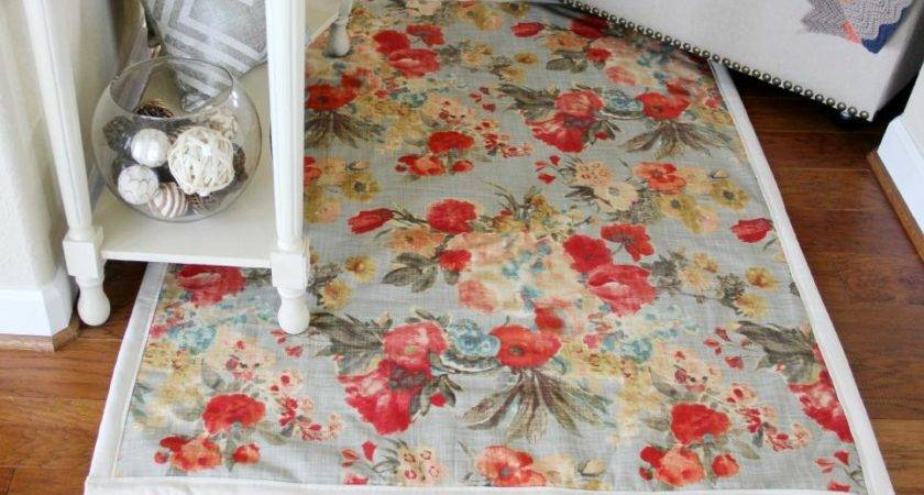 Easy Sew Instructions Making Rugs Diy
