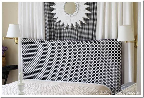 Easy Sew Reversible Padded Headboard Cover Own Style
