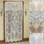 Easy Style Carly Lace Curtain Panel Attached Valance
