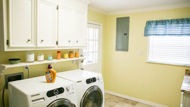 Eclectic Recipes Laundry Room Makeover Giveaway
