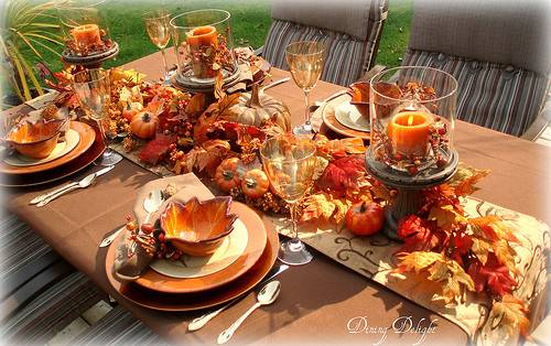 Eight Autumn Tablescapes Bright Ideas Blog