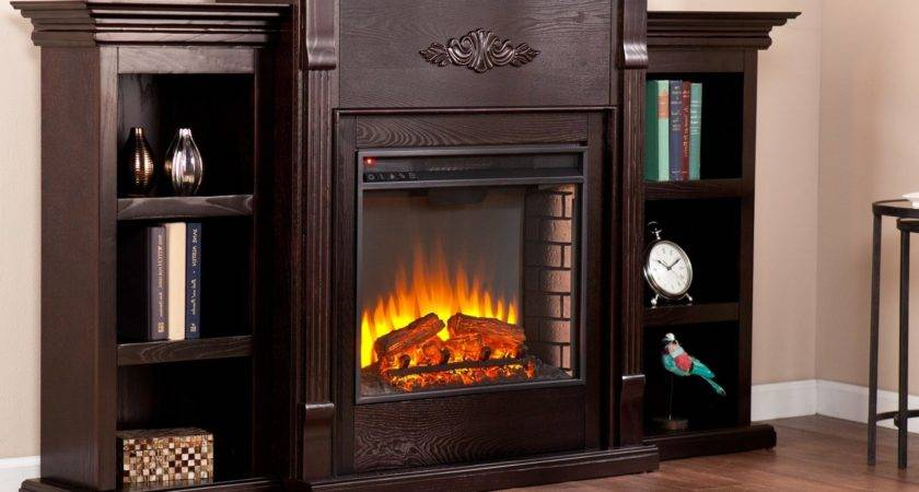 Electric Fireplace Bookcases American Hwy