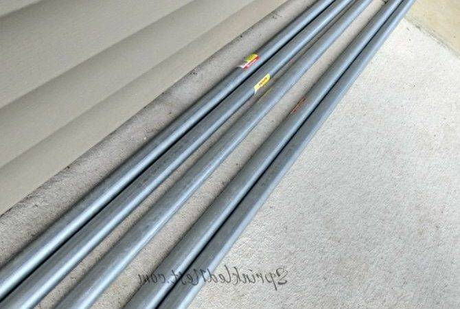Electrical Conduit Drapery Rod Sprinkled Nest