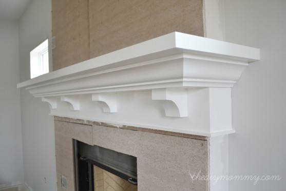 Elegant Diy Fireplace Mantel Surrounds Home