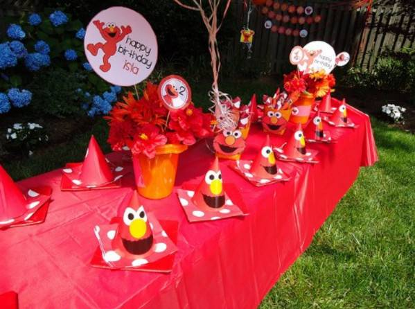 Elmo Birthday Party Ideas Two Year Old Home