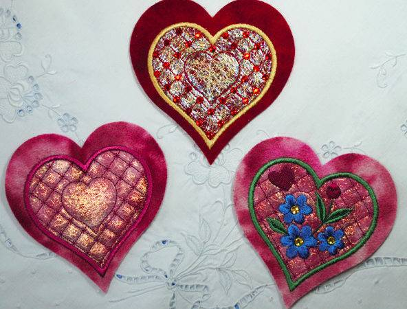Embroider Heart Tutorial Craftsy