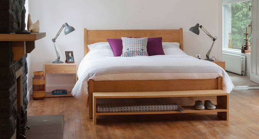 End Bed Bench Bedroom Storage Natural Company