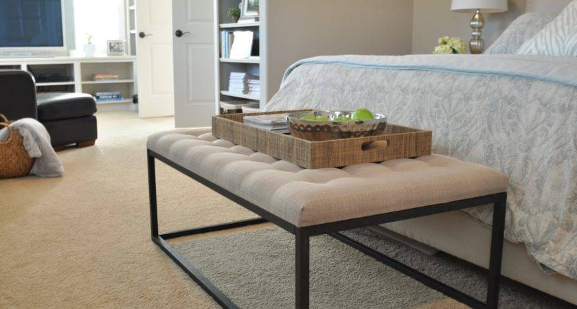 End Bed Bench Under Honey Home