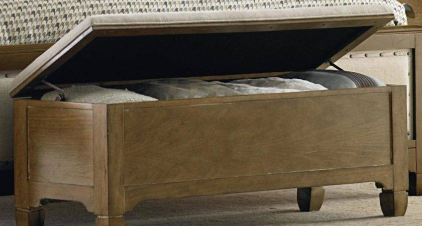 End Bed Storage Bench Homesfeed
