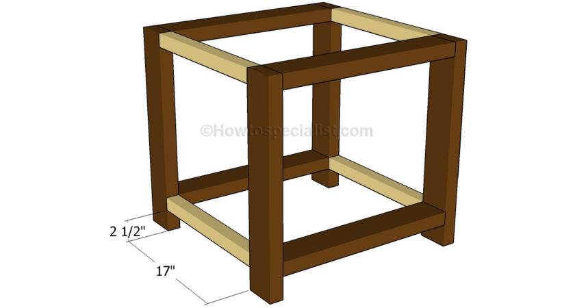 End Table Plans Howtospecialist Build Step