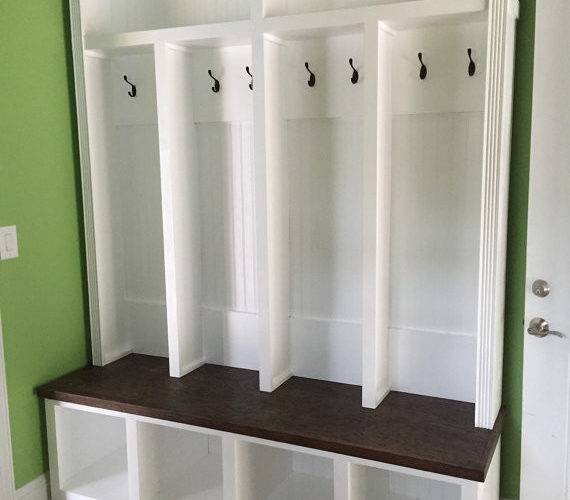 Entryway Locker Mudroom