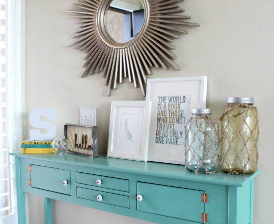Entryway Table Decor Ideas Myideasbedroom