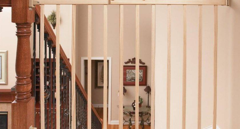 Evenflo Top Stairs Plus Wood Gate Natural Model