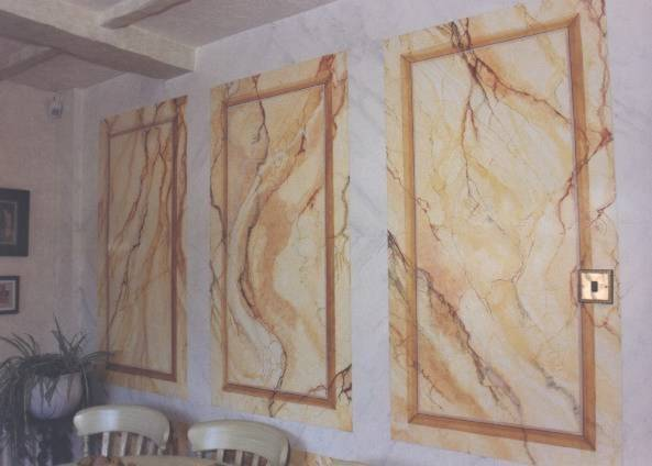 Examples Marbling Marbleizing