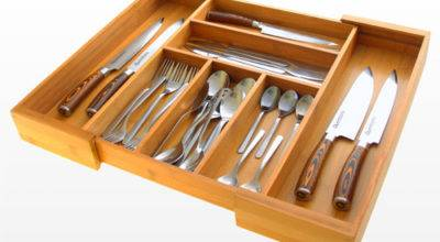 Expandable Flatware Drawer Organizer